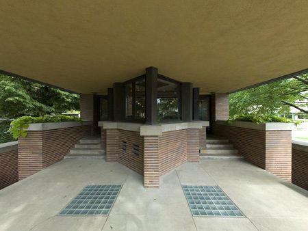 Robie House Front Porch Frank Lloyd Wright Pinterest