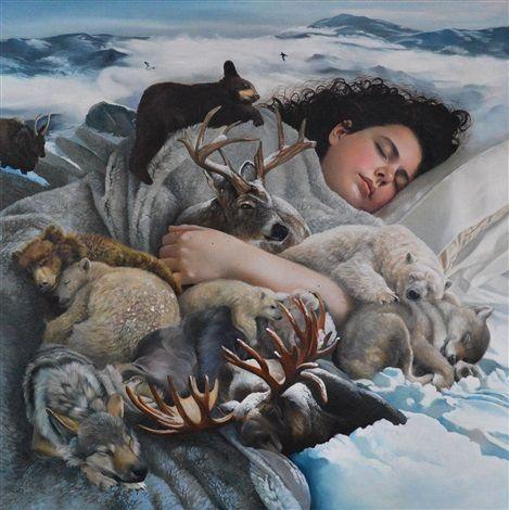 Hibernation by Bryony Bensly