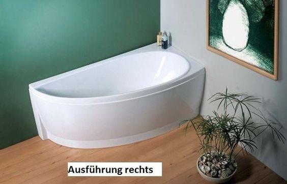 raumspar badewanne 150 x 70 cm sch rze bodenl nge 98 cm inhalt 158 liter raumspar badewanne 150. Black Bedroom Furniture Sets. Home Design Ideas