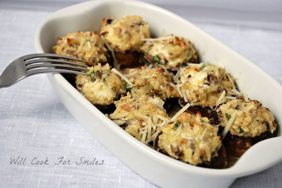 Will Cook For Smiles: Stuffed Mushrooms