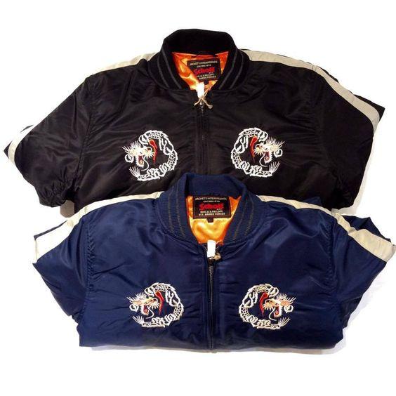 Schott N.Y.C 9630 Mens Nylon Flight Jacket
