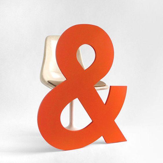 Aaaand here's an ampersand.