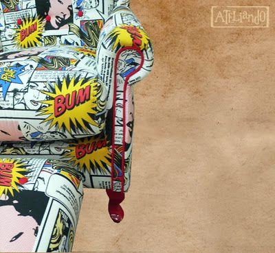 Ateliando - Customização de móveis antigos: Sofás  Quer dar uma levantada em alguma poltroninha esquecida por aí?  Entre em contato conosco ateliando@ateliando.com.br