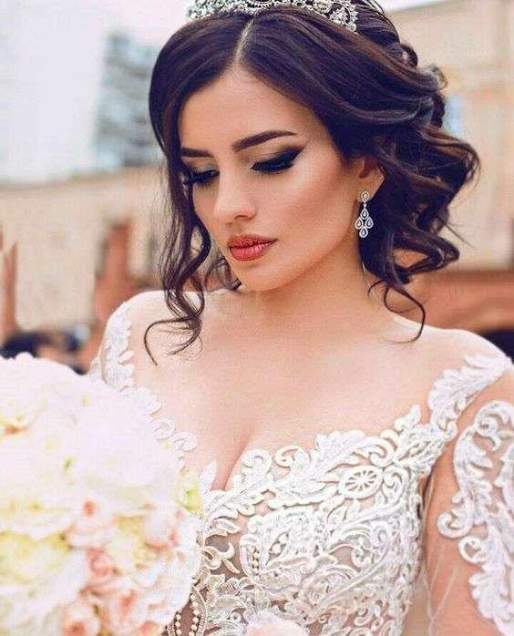 Maquillaje para novia ojos ahumados