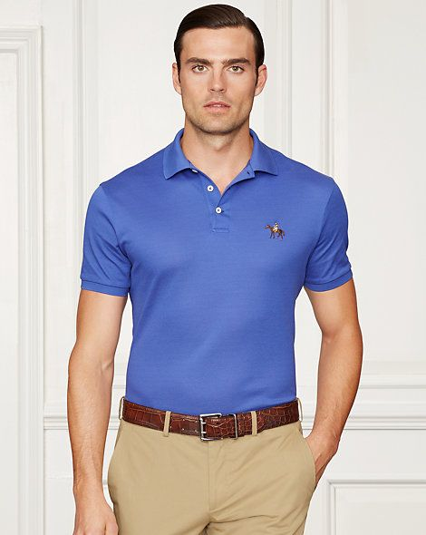 Purple Label - Custom-Fit Piqué Polo Shirt