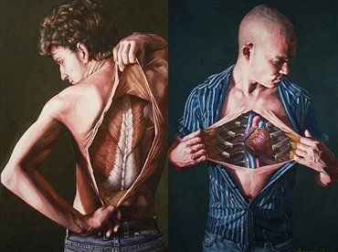 Danny Quirk: Anatomical Self-Dissections