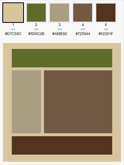 Brown Green Color Scheme For Our Living Room Cream Is The Color Of Our