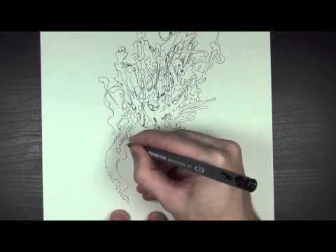 Drawing Squiggles n Lines (and about Fireworks) - YouTube