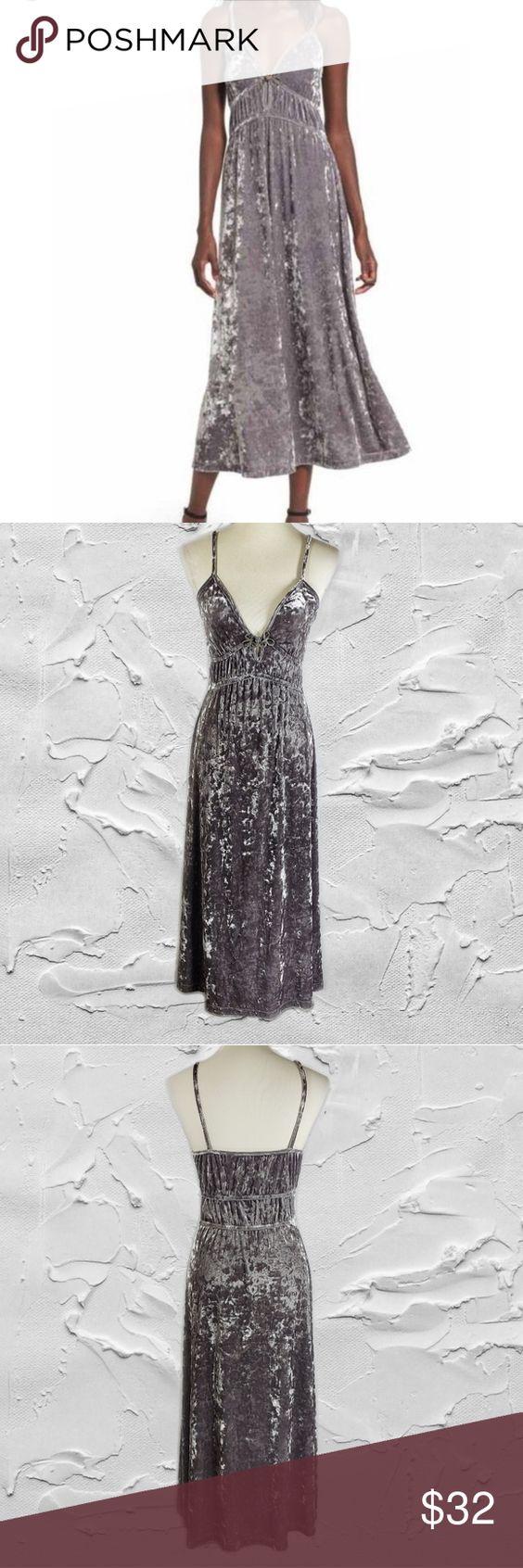 Bp Gray Velvet Spaghetti Strap Maxi Dress Sz S Bp Womens Gray Velvet Spaghetti Strap Maxi Dress Sz S Sleeveless Maxi Dress Dresses Spaghetti Strap Maxi Dress [ 1692 x 564 Pixel ]