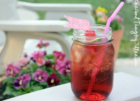 How To Make A Homemade Shirley Temple :-)