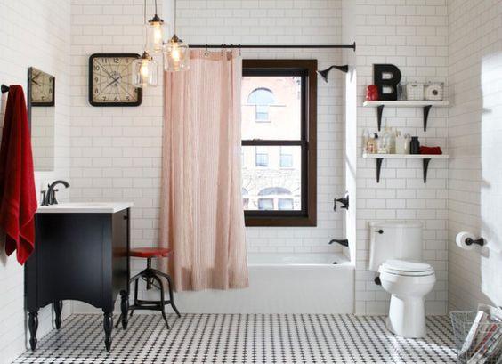 16 Сказочным Эклектичным Ванными Комнатами Для Тех, Кто Придерживается Никаких Правил