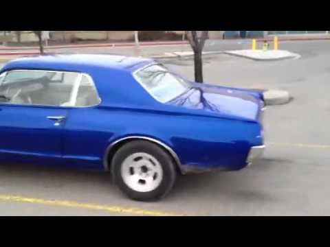 1967 Cougar that my son, Daniel, and I are restoring. JN