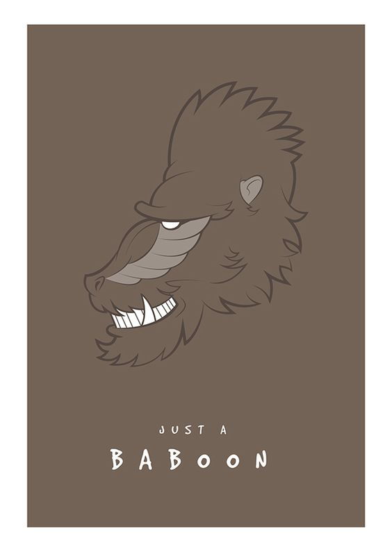 Just a baboon
