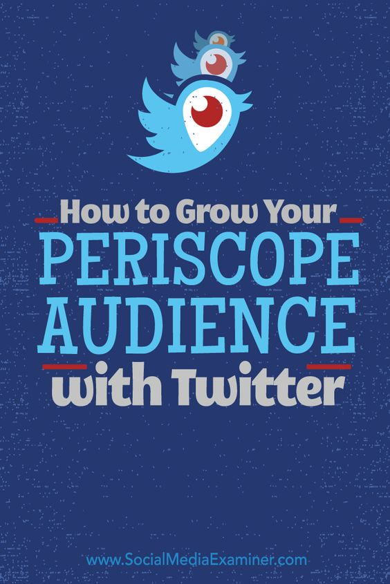 Do you want more followers on Periscope?  Twitter now allows users to view Periscope broadcasts live in their Twitter feeds, giving you exposure to a much wider audience than with the Periscope app alone.  In this article you'll discover how to build a Periscope audience with Twitter. Via @smexaminer.