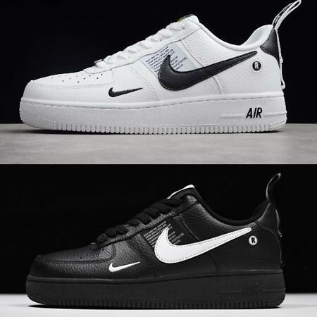 air force 1 uomo nero