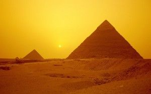 Got to the pyramids of Egypt