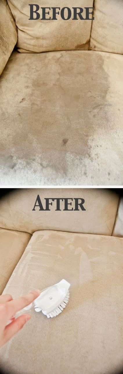 How to clean a microsuede couch