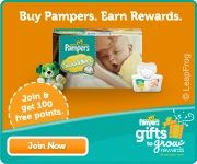 New Pampers 10 pt. code plus code list-