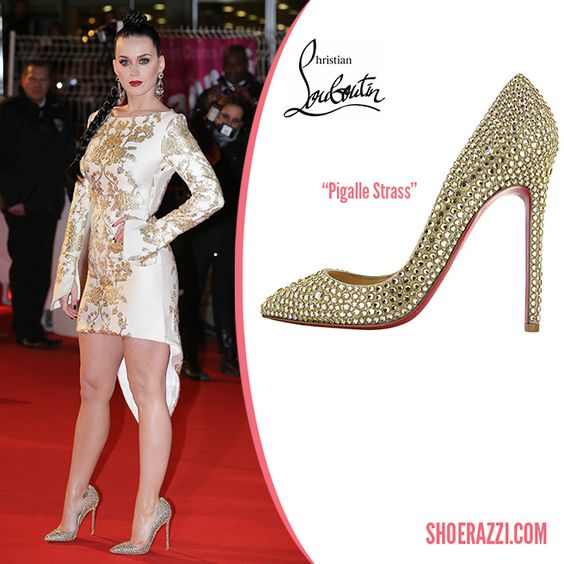 is the christian louboutin website fake - Katy Perry in Christian Louboutin Pigalle Strass Crystal ...