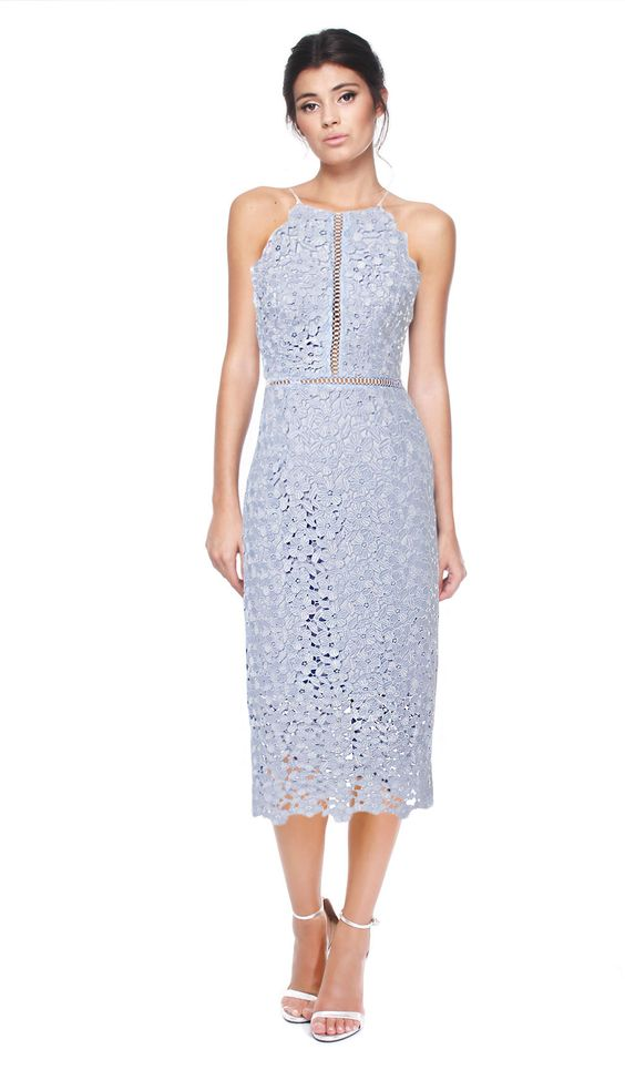 Cynthia Rowley Floral Lace Fitted Dress  Designer Dress Hire and ...
