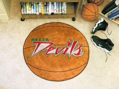 Mississippi Valley St MVSU Delta Devils Basketball Area Rug Welcome/Bath Mat