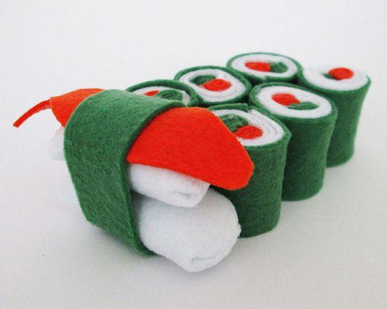 Adventskalender füllen mit frischem Sushi aus dem Limmaland - www.limmaland.com