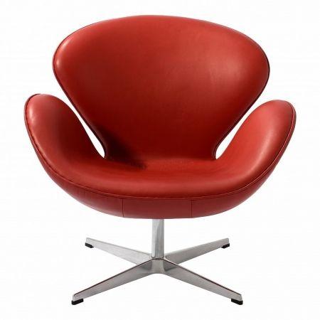 Кресло Swan A062 красное