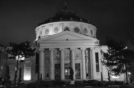 Bucurestiul noaptea! Ateneul Roman