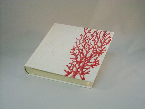 peint à la main est un album corallo par kucita sur Etsy