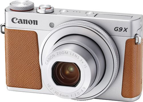 Canon Powershot G9 X Mark Ii 20 1 Megapixel Digital Camera Silver Larger Front Canoneos Compact Digital Camera Best Digital Camera Canon Powershot