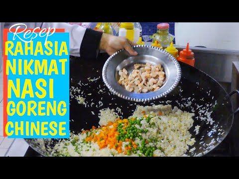 Resep Rahasia Nikmat Nasi Goreng Chinese Hongkong Masak Nasgor Chinese 90 Porsi Youtube Resep Resep Makanan Nasi Goreng