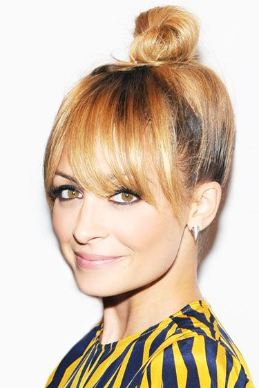 Miraculous Nicole Richie Bangs And Buns On Pinterest Hairstyles For Men Maxibearus