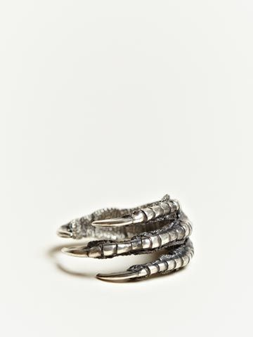 Ann Demeulemeester Men's silver claw ring