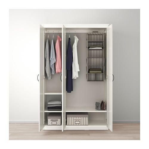 Songesand Wardrobe White Ikea Ikea Closet System Standing Closet Free Standing Closet