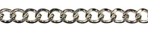 5ft Link Chain- Silver