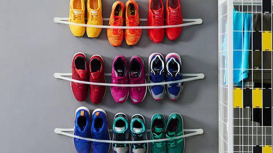 DIY-Schuhregal für Sneakers, Foto: Robert Bosch GmbH