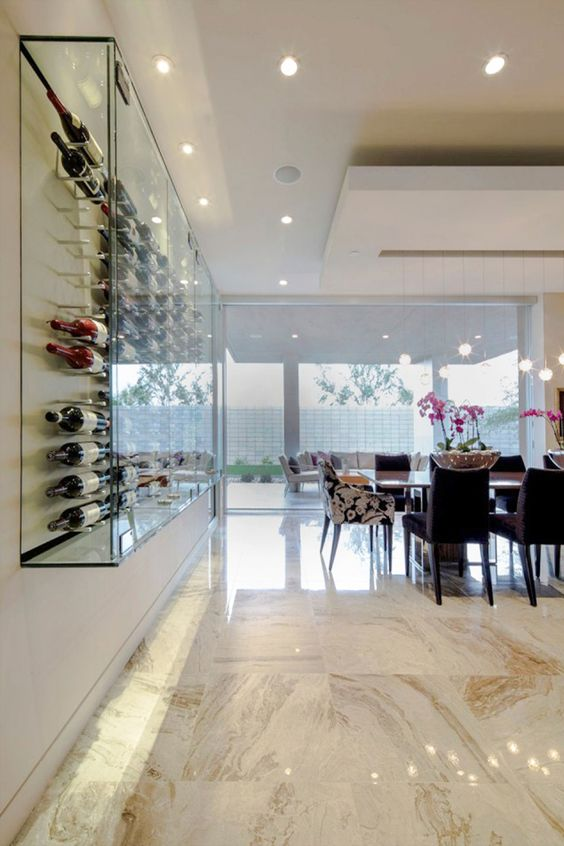 Follow me cabinets and display cabinets on pinterest for Dining room glass cabinet