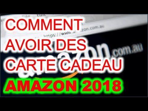 Comment Avoir Des Carte Cadeau Amazon Gratuitement 2018 Code