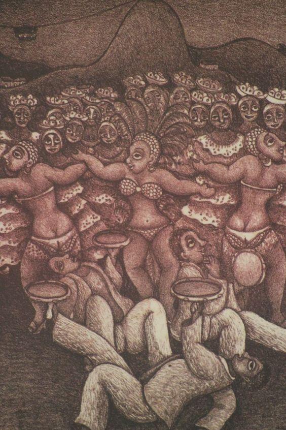 Dila. Salgueiro Malabaristas (1979). 32x24 cm