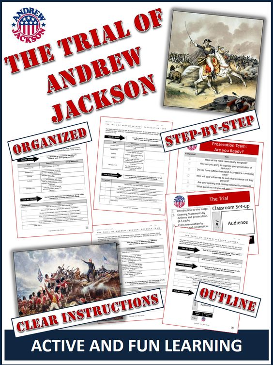 Creative title for Andrew Jackson essay?