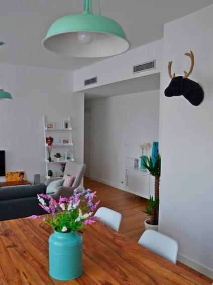 Una casa moderna decorada con estilo nórdico