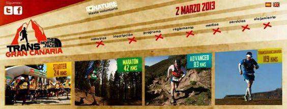 Las Carreras Transgrancanaria 2013: 24k / 42k / 83k / 119k Toda la info de esta y otras ediciones previas aquí: http://carrerasdemontana.com/category/transgrancanaria/