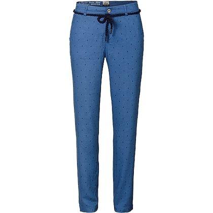 Hübsche dunkelblaue #Chino Hose von #GAASTRA. Die Chino hat ein tolles #Print, das ein echter #Hingucker ist. ♥ ab 89,95 €