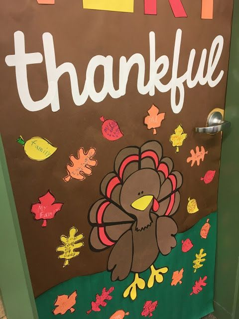 November Thanksgiving Door Decor Thanksgiving Door Decorations