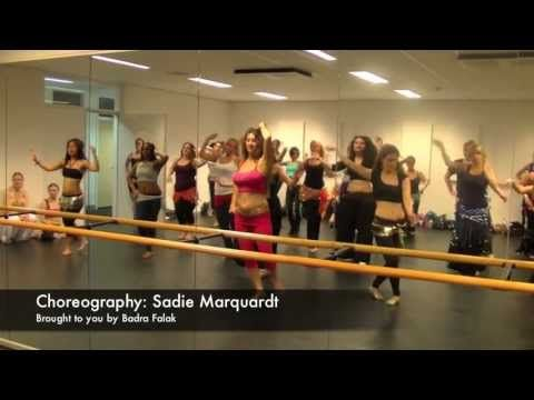 Sadie Marquardt drum solo workshop Breda 2013 - YouTube