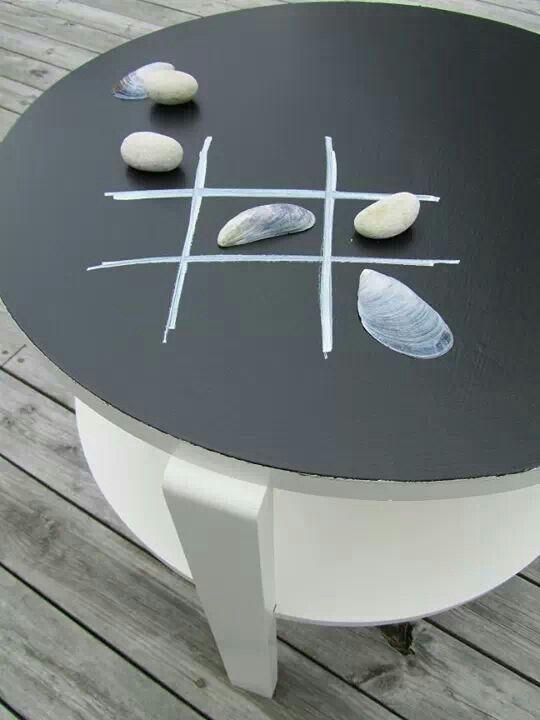 Chalk board table