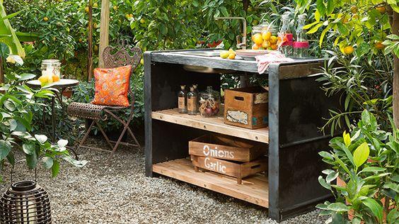 Best Die Outdoork che Solok nstler Einzelmodul Outdoor kitchens Pinterest