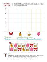 Easter Math Worksheets - School Sparks