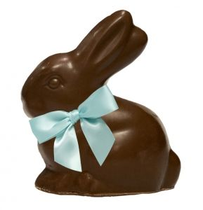 HOP INTO SPRING with our #vegan, #crueltyfree Chocolate Bunny Bar! 6.8 oz of organic chocolatey goodness, shipped right to your door by Easter Sunday. Find 'em (and more) at petacatalog.com!