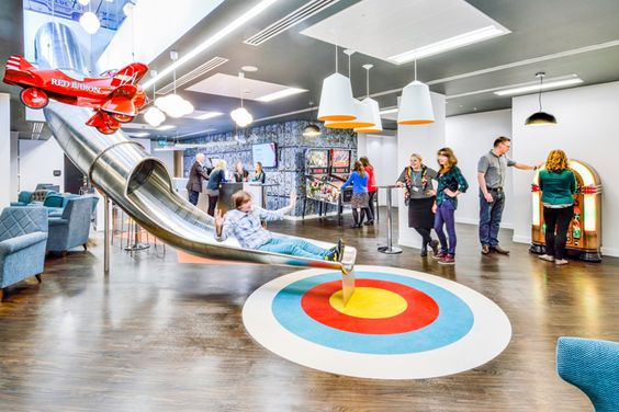 Ticketmaster office by TSK Group, London – UK » Retail Design Blog